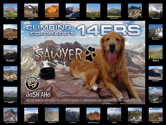 Climbing Colorado's 14ers With Sawyer Book Cover