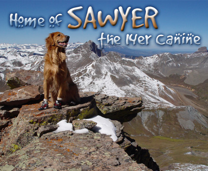 Home of Sawyer the 14er Canine